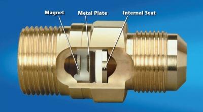 gas line break detection with excess flow valves. Black Bedroom Furniture Sets. Home Design Ideas